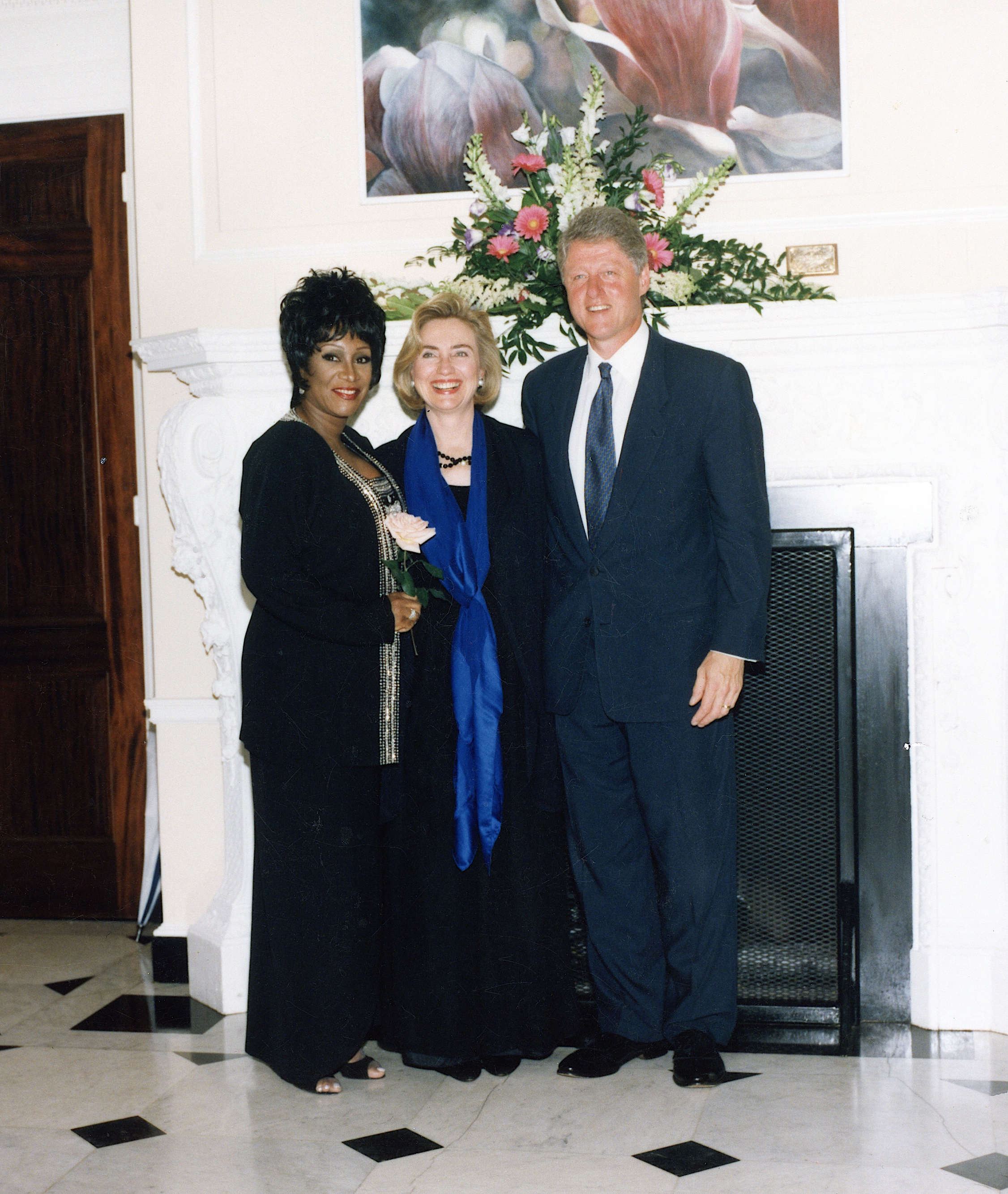 Clintons and Patti LaBelle